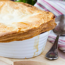 Lamb Stew Pot Pie